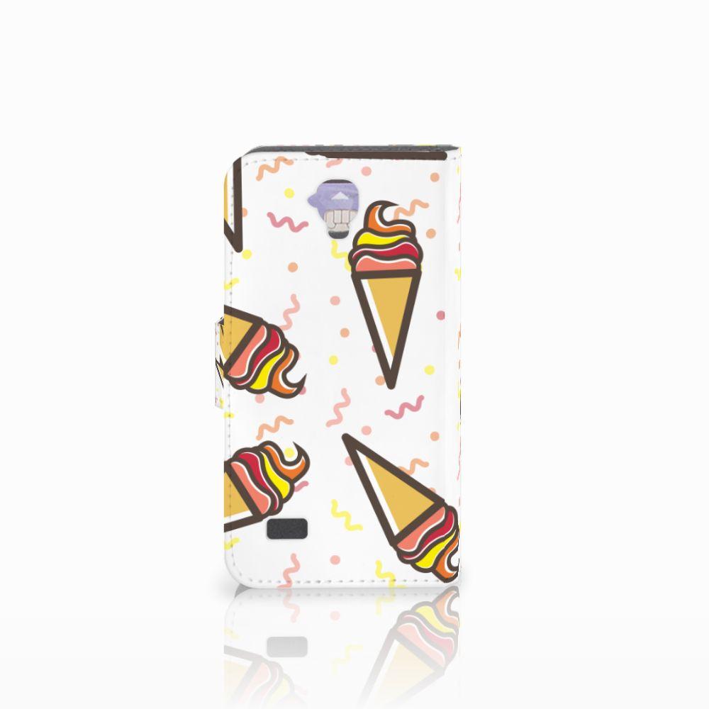 Huawei Y5 Y560 Book Cover Icecream