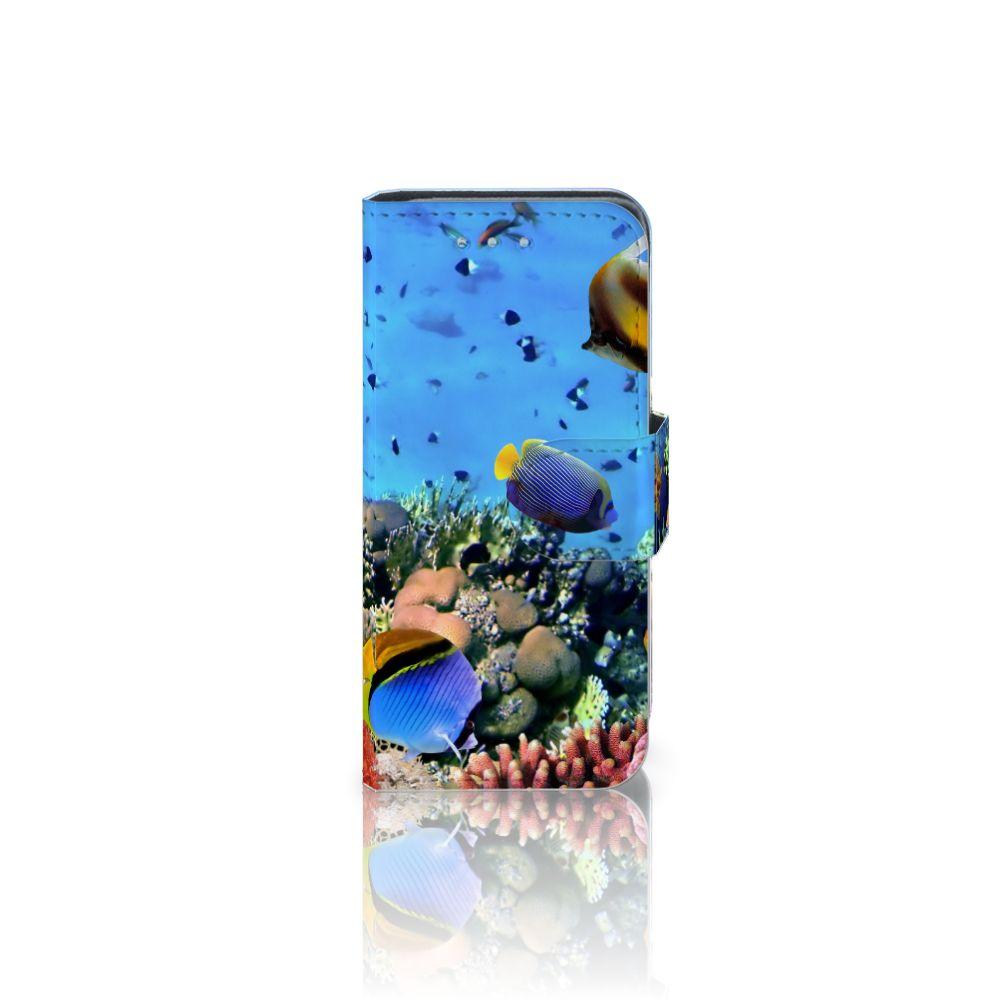 Samsung Galaxy S4 Mini i9190 Telefoonhoesje met Pasjes Vissen