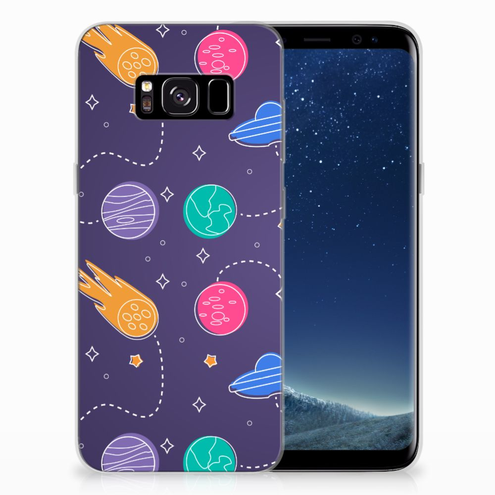 Samsung Galaxy S8 Silicone Back Cover Space