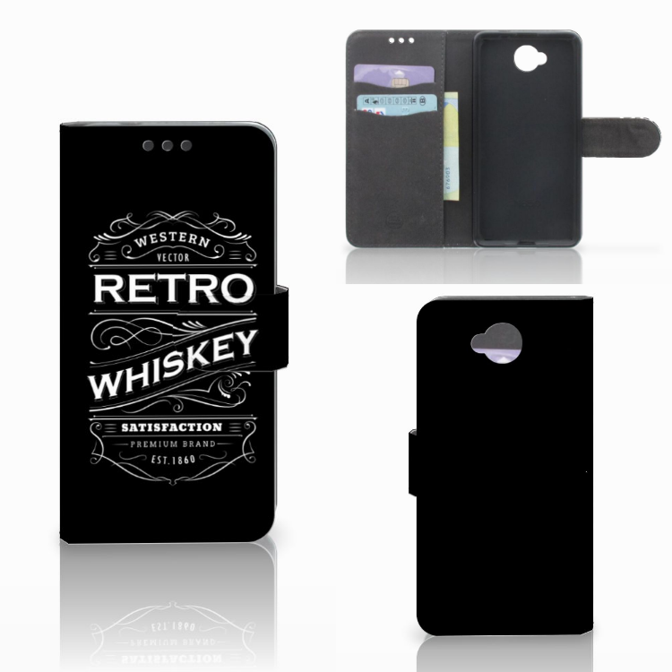 Microsoft Lumia 650 Book Cover Whiskey