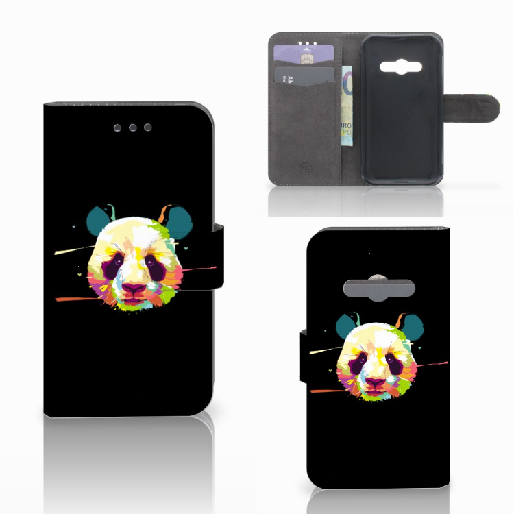 Samsung Galaxy Xcover 3 | Xcover 3 VE Leuke Hoesje Panda Color