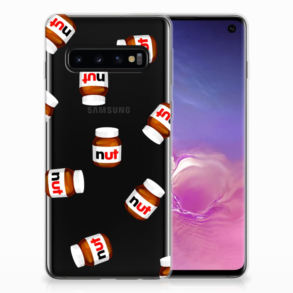 Samsung Galaxy S10 Siliconen Case Nut Jar
