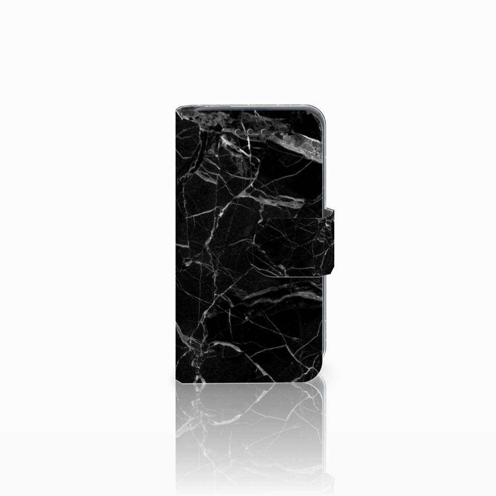 Nokia Lumia 530 Boekhoesje Marmer Zwart