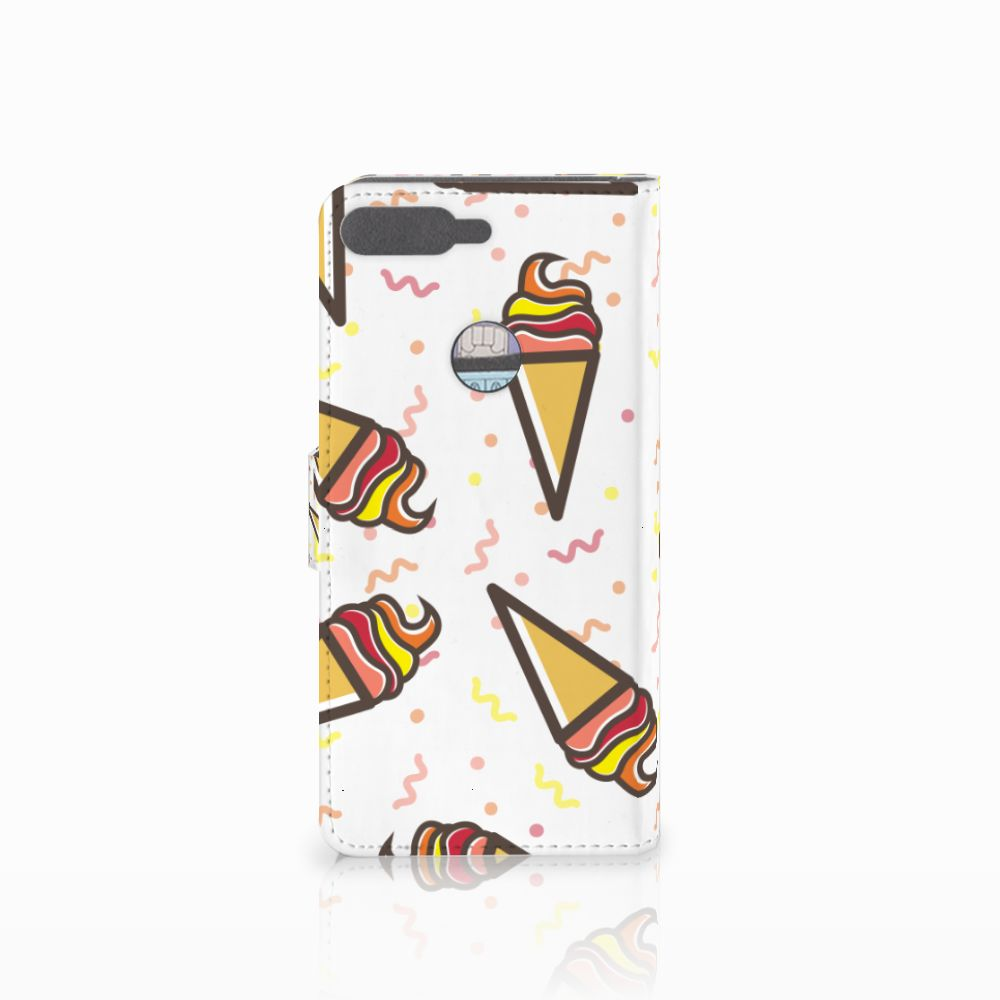 Huawei Y7 2018 Book Cover Icecream