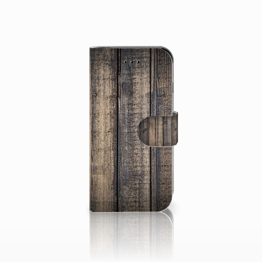 Apple iPhone 6 | 6s Boekhoesje Design Steigerhout