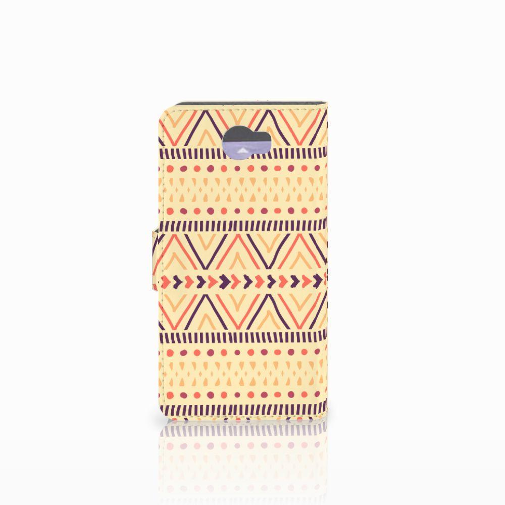 Huawei Y5 2 | Y6 II Compact Telefoon Hoesje Aztec Yellow