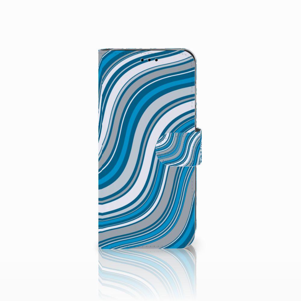 Huawei P20 Lite Telefoon Hoesje Waves Blue