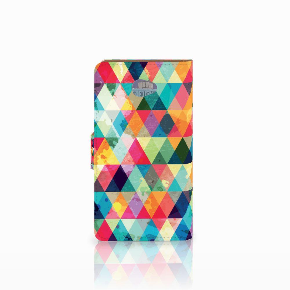 HTC Desire 601 Telefoon Hoesje Geruit