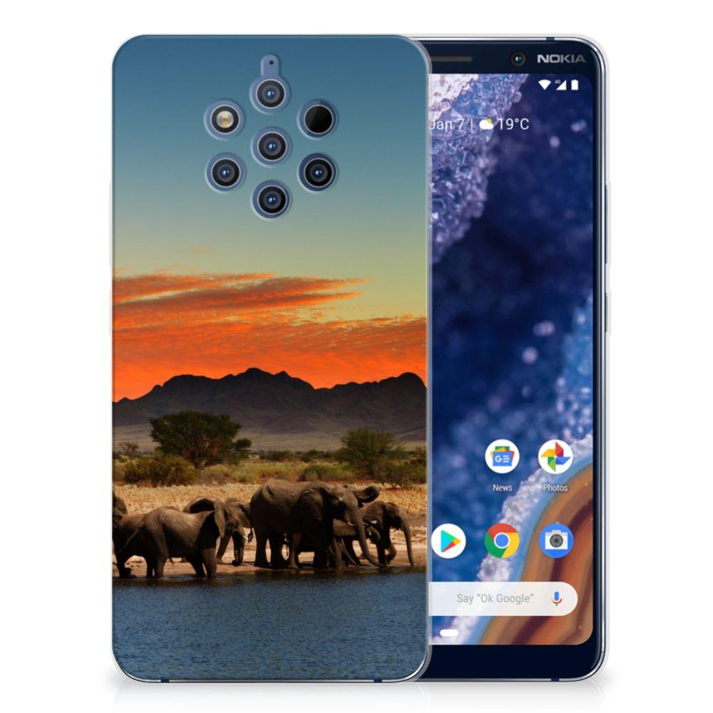 Nokia 9 PureView TPU Hoesje Olifanten