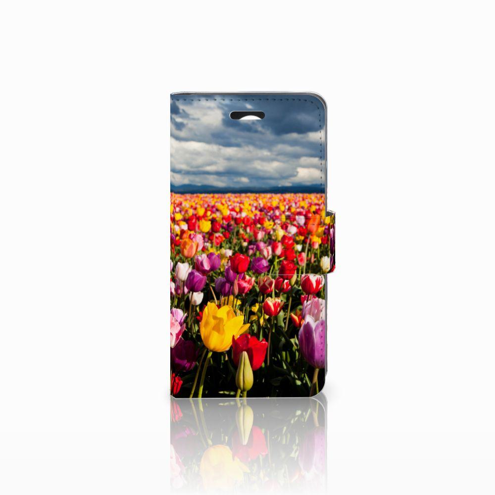 Huawei Y3 2 | Y3 II Uniek Boekhoesje Tulpen