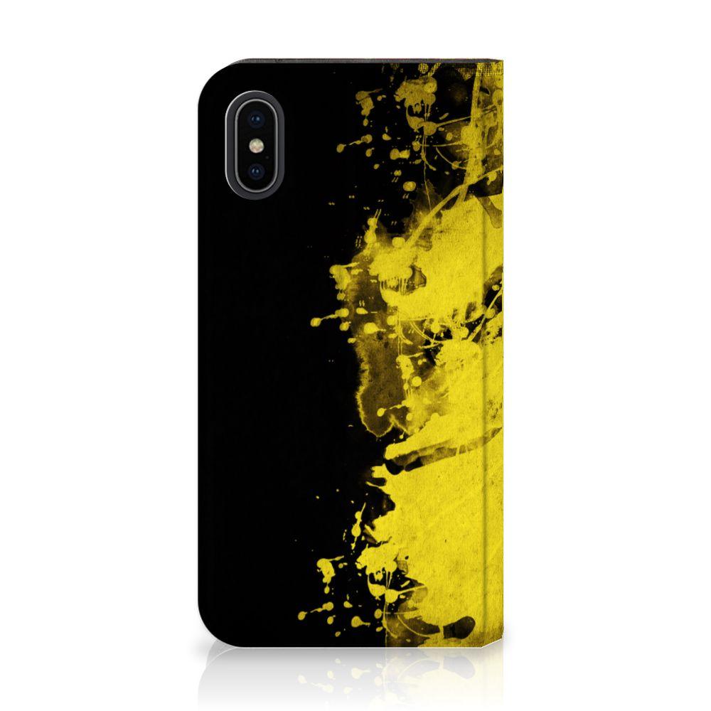 Apple iPhone X | Xs Standcase Hoesje Design Belgische Vlag