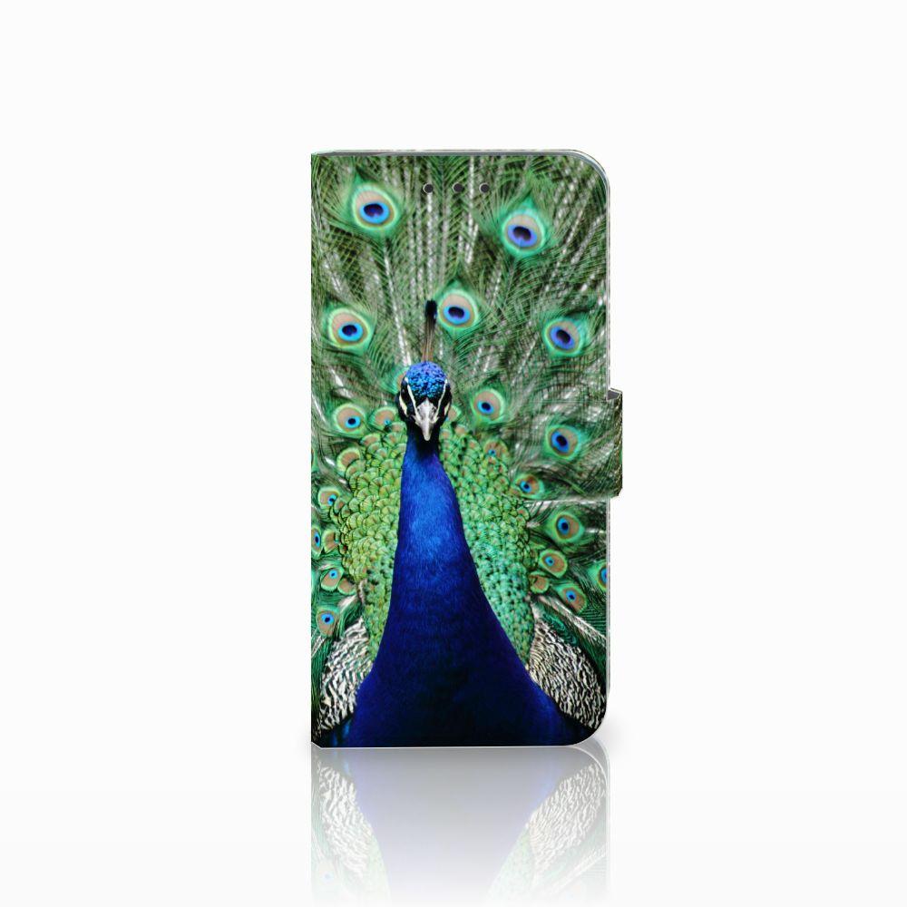 Motorola Moto G6 Play Boekhoesje Design Pauw