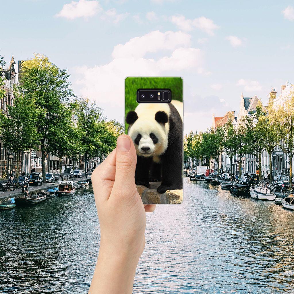 Samsung Galaxy Note 8 TPU Hoesje Panda
