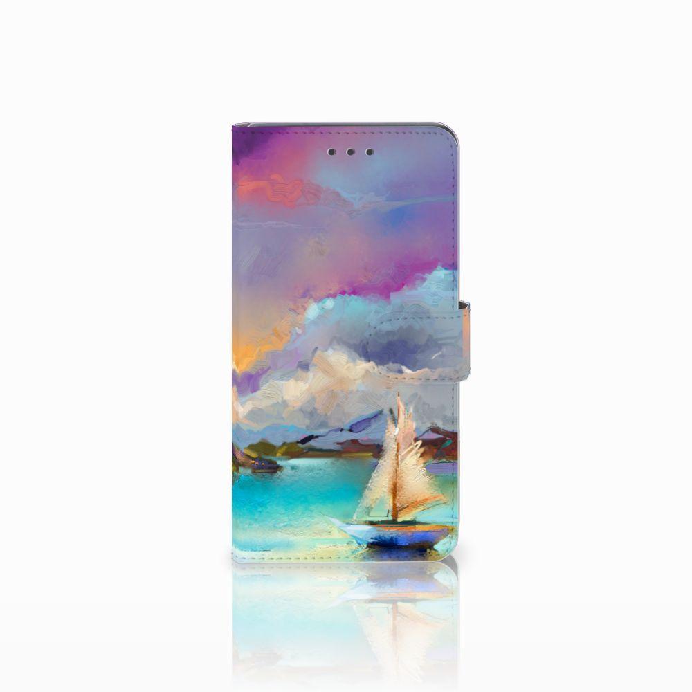 Huawei Mate 8 Uniek Boekhoesje Boat