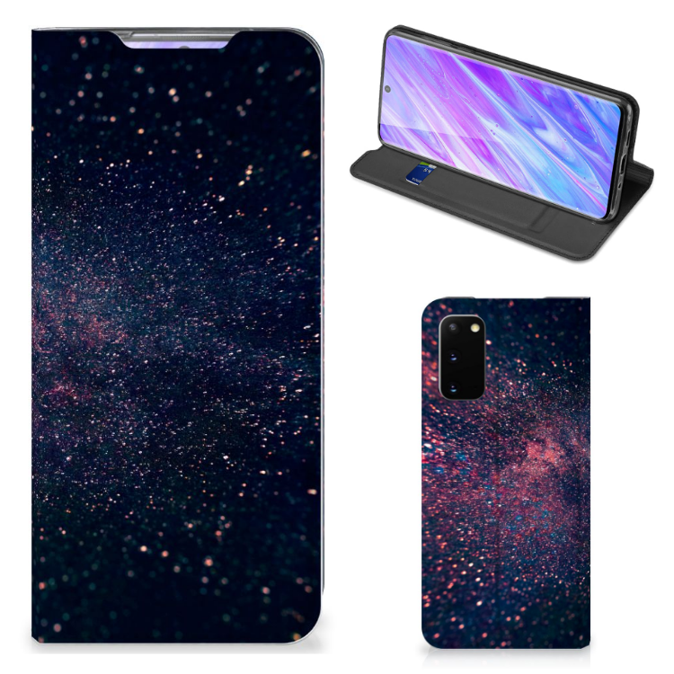 Samsung Galaxy S20 Stand Case Stars