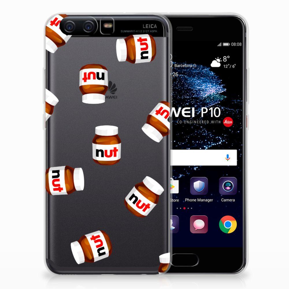 Huawei P10 Siliconen Case Nut Jar