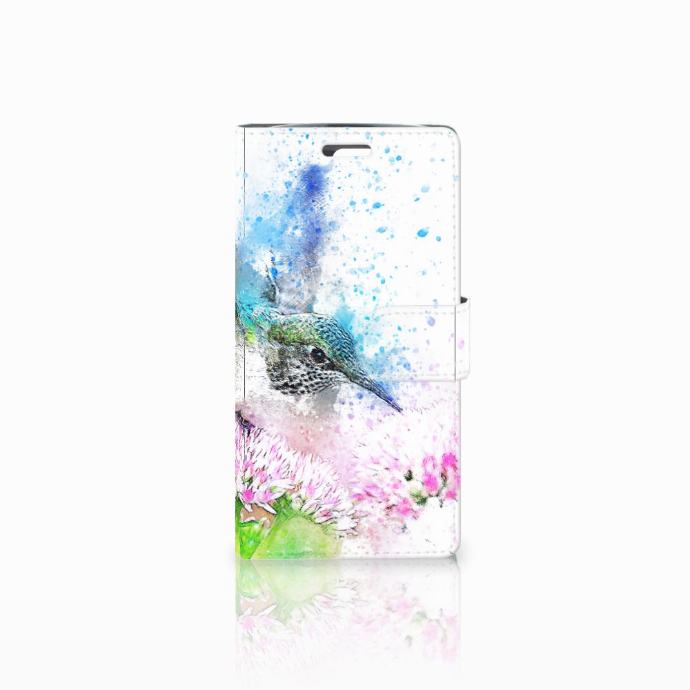 LG K10 2015 Boekhoesje Design Vogel