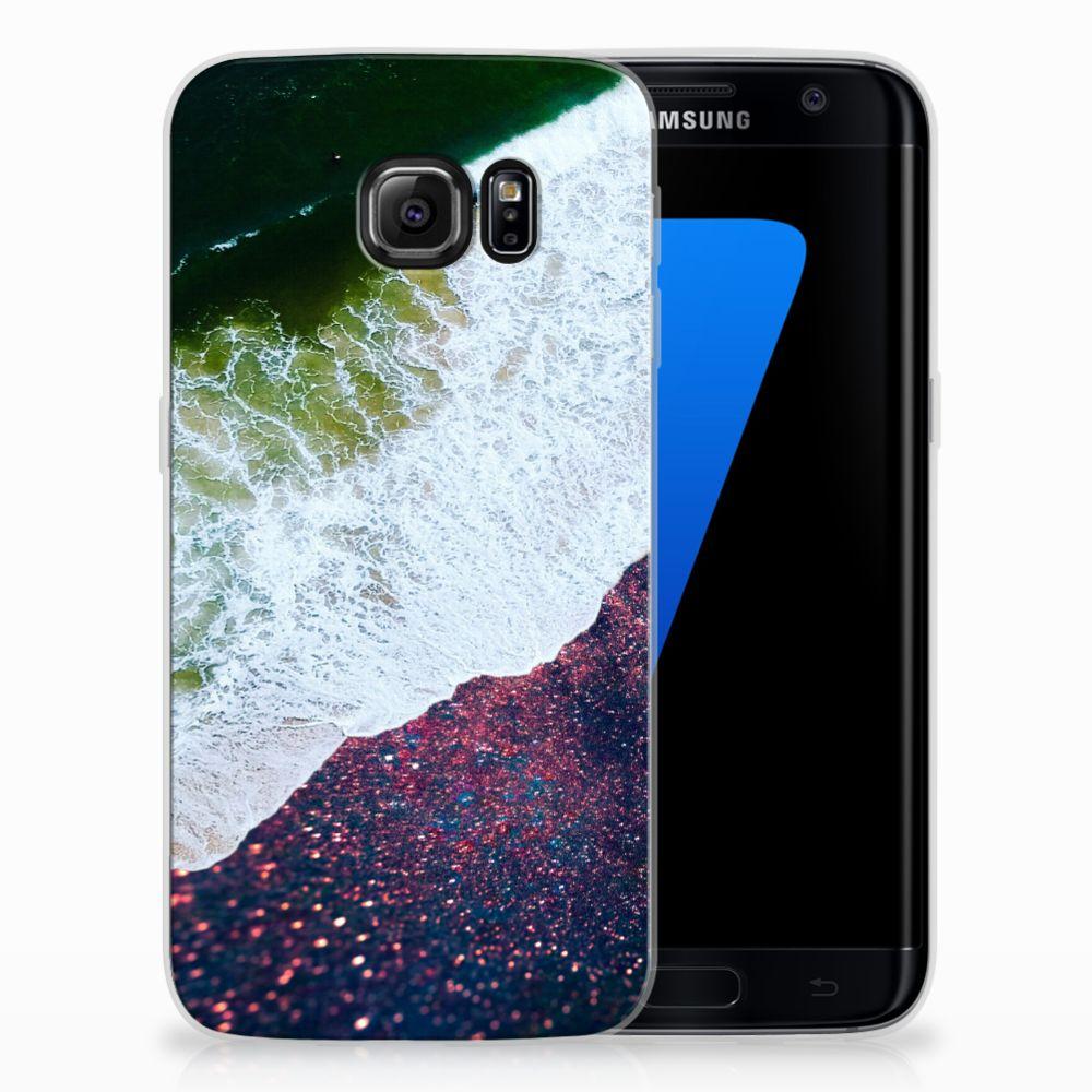 Samsung Galaxy S7 Edge TPU Hoesje Design Sea in Space