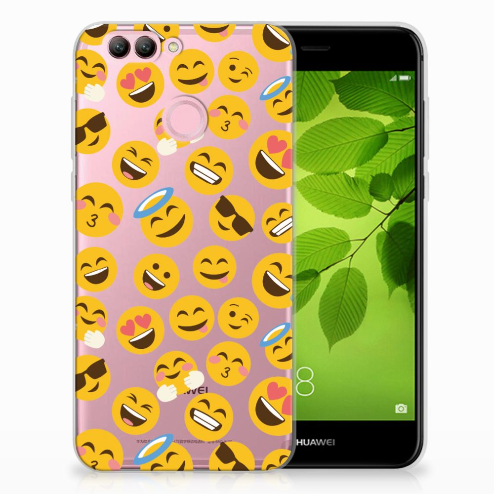 Huawei Nova 2 TPU Hoesje Design Emoji