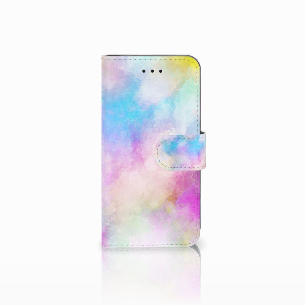 Apple iPhone X | Xs Uniek Boekhoesje Watercolor Light