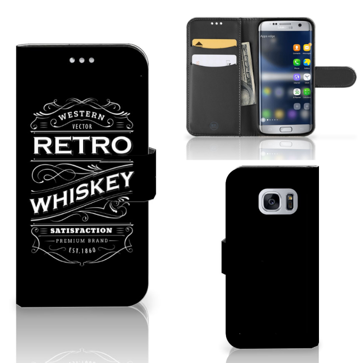 Samsung Galaxy S7 Book Cover Whiskey