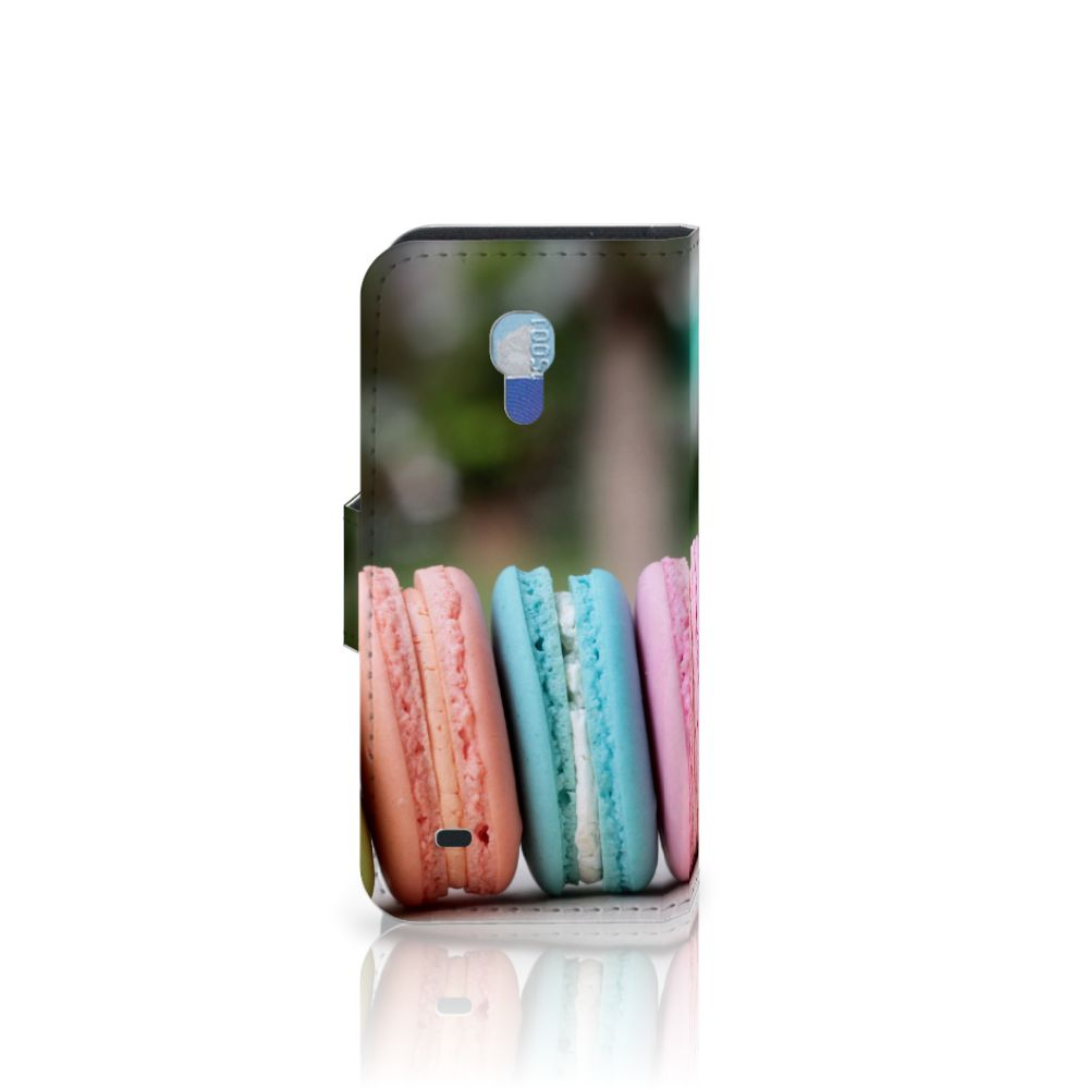 Samsung Galaxy S4 Mini i9190 Book Cover Macarons