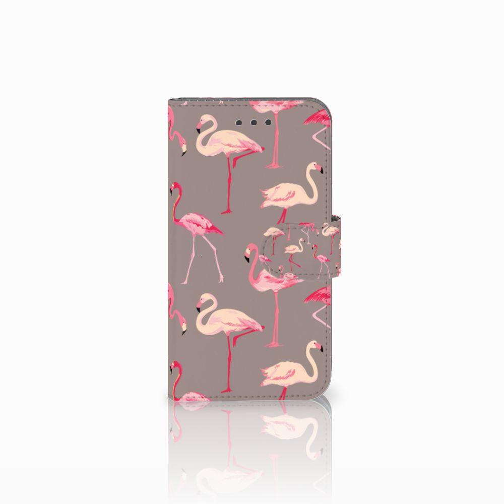 Samsung Galaxy Xcover 3 | Xcover 3 VE Uniek Boekhoesje Flamingo