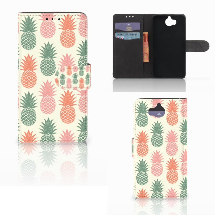 Huawei Y5 | Y6 2017 Book Cover Ananas