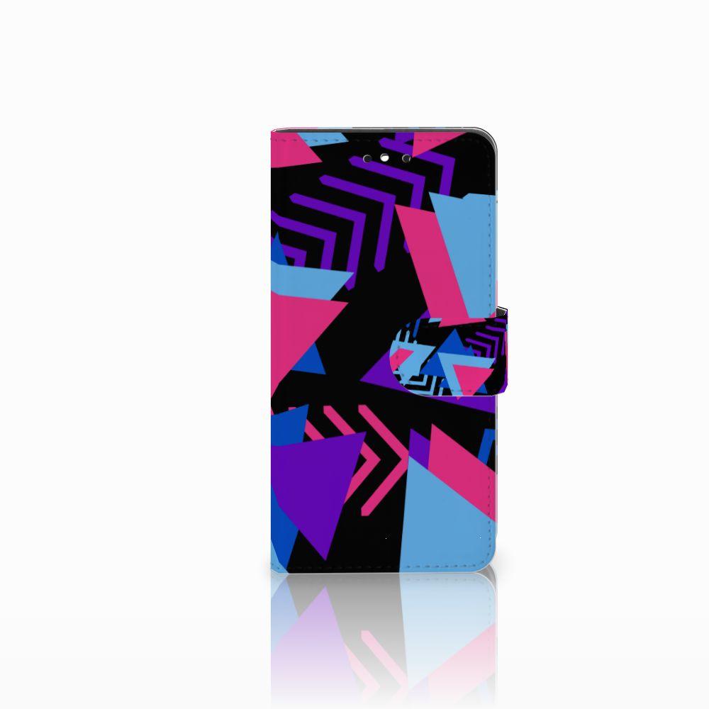 Huawei P8 Lite Smart (GR3) Bookcase Funky Triangle