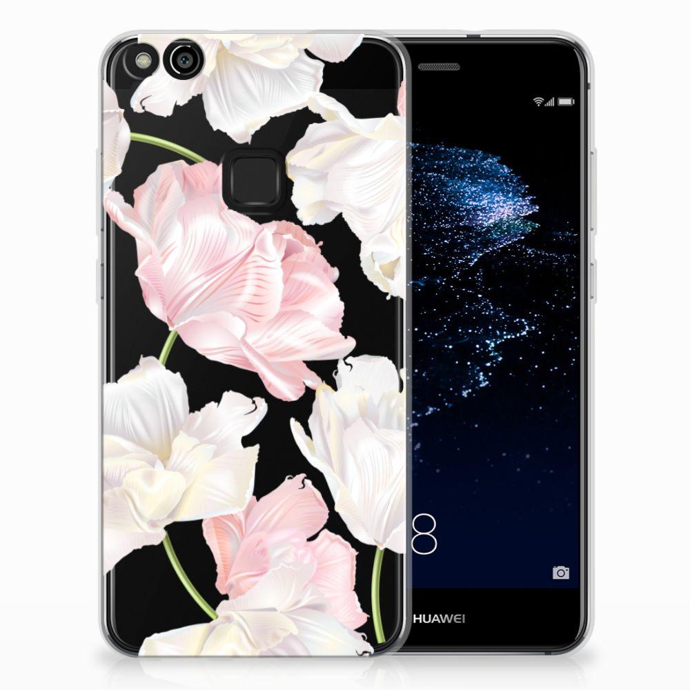 Huawei P10 Lite TPU Hoesje Design Lovely Flowers