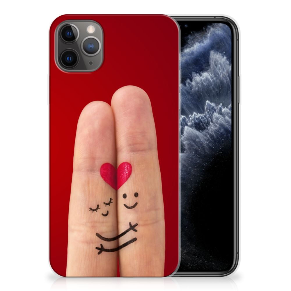 Apple iPhone 11 Pro Max Silicone Back Cover Liefde