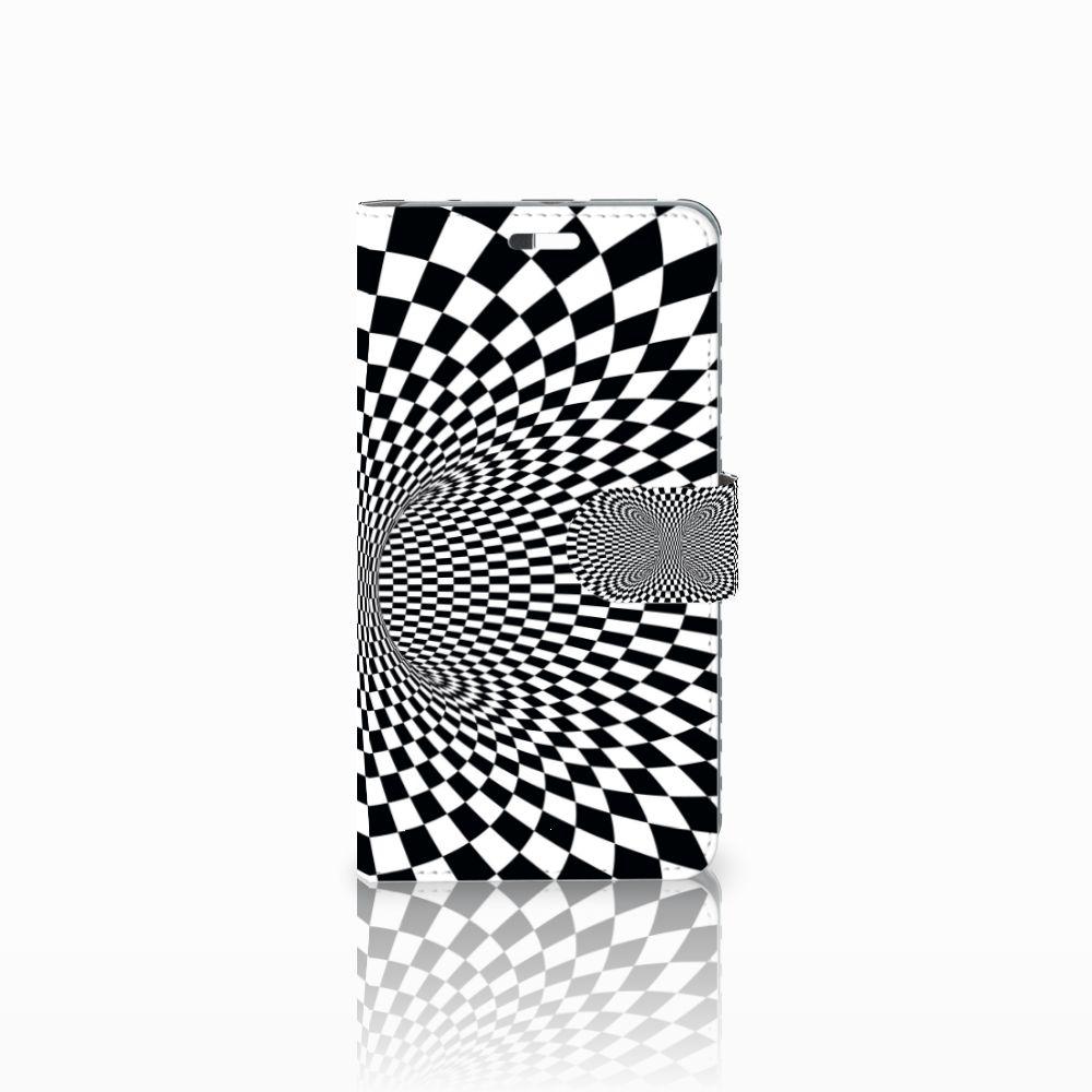 Huawei P9 Plus Boekhoesje Design Illusie