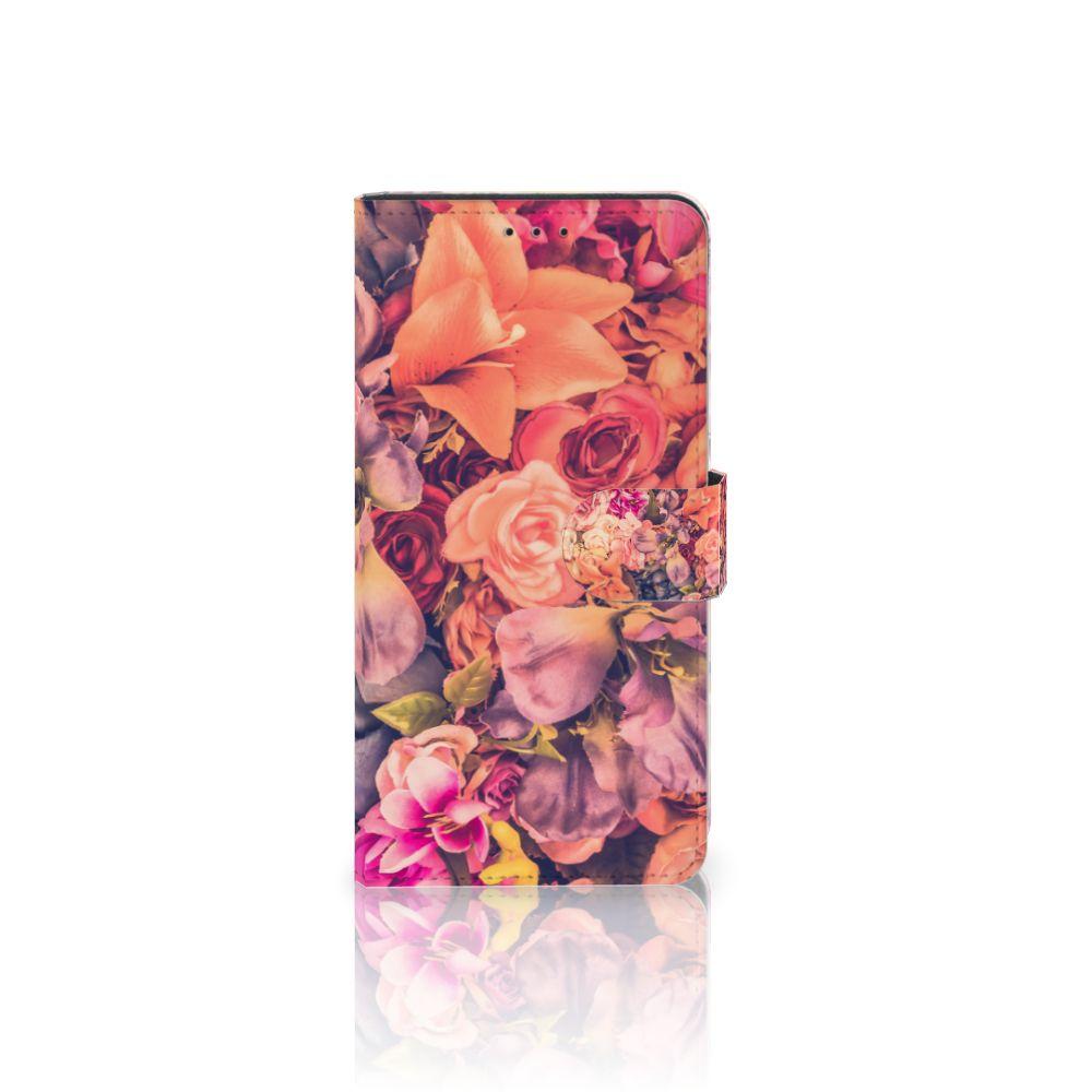 Samsung Galaxy A7 (2018) Boekhoesje Design Bosje Bloemen