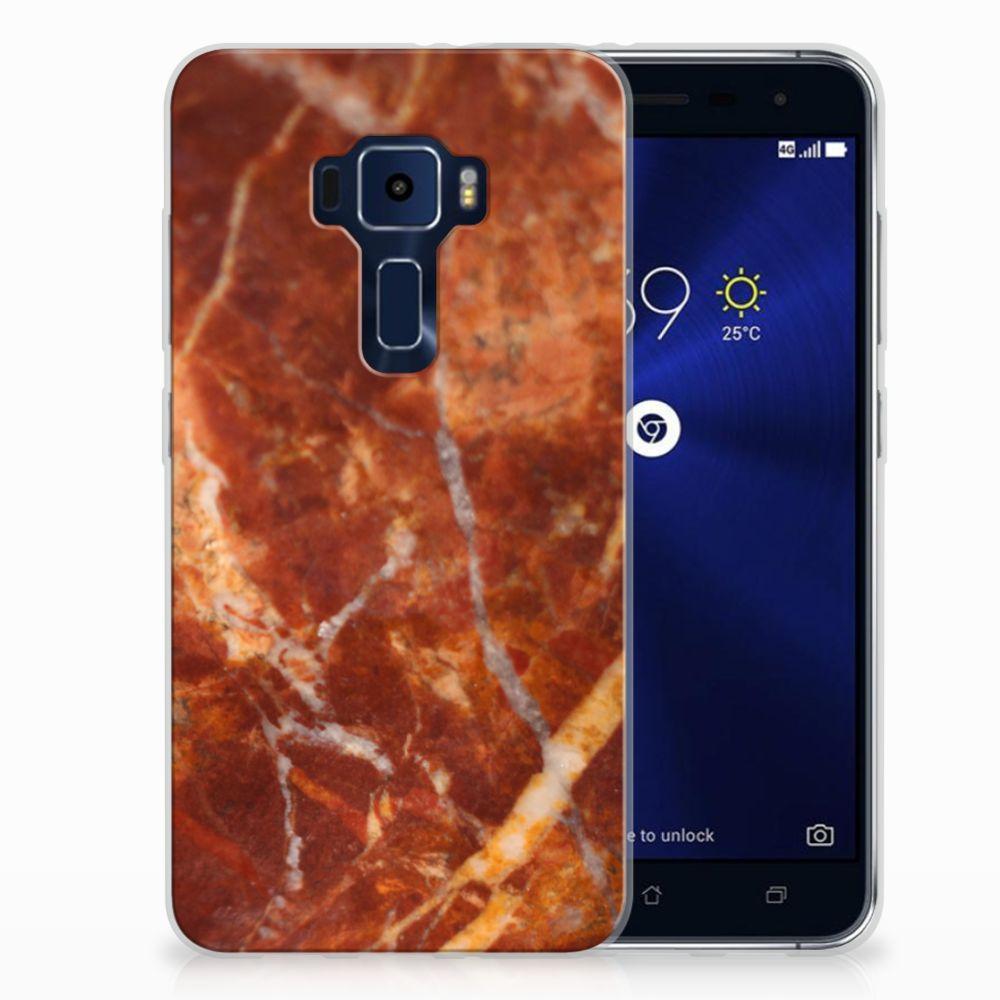 ASUS Zenfone 3 TPU Hoesje Design Marmer Bruin