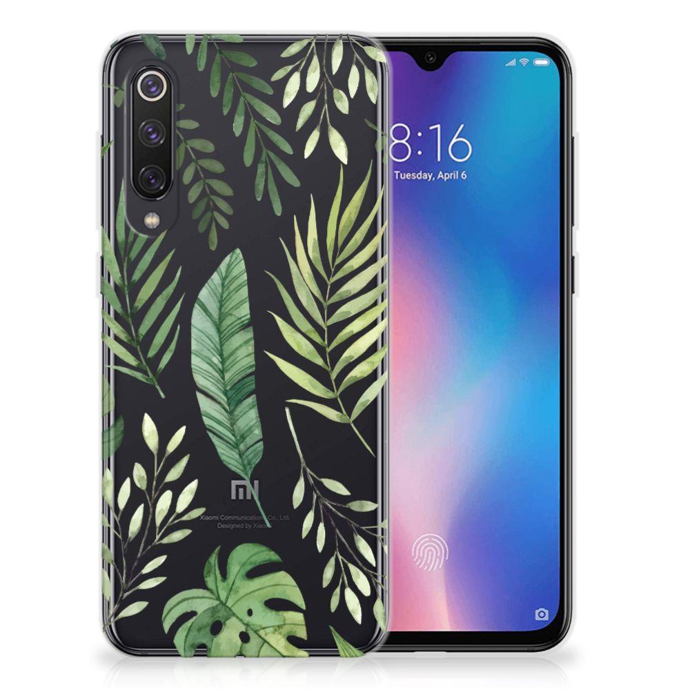 Xiaomi Mi 9 SE TPU Case Leaves