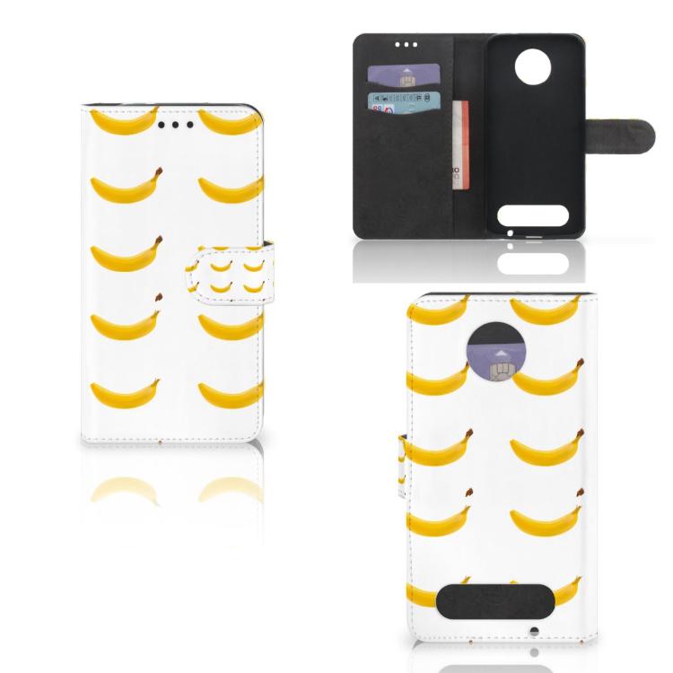 Motorola Moto Z2 Force Book Cover Banana