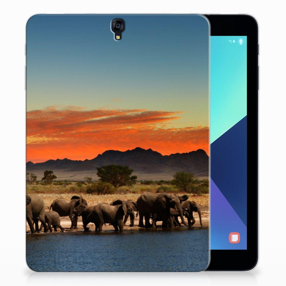 Samsung Galaxy Tab S3 9.7 Tablethoesje Design Olifanten
