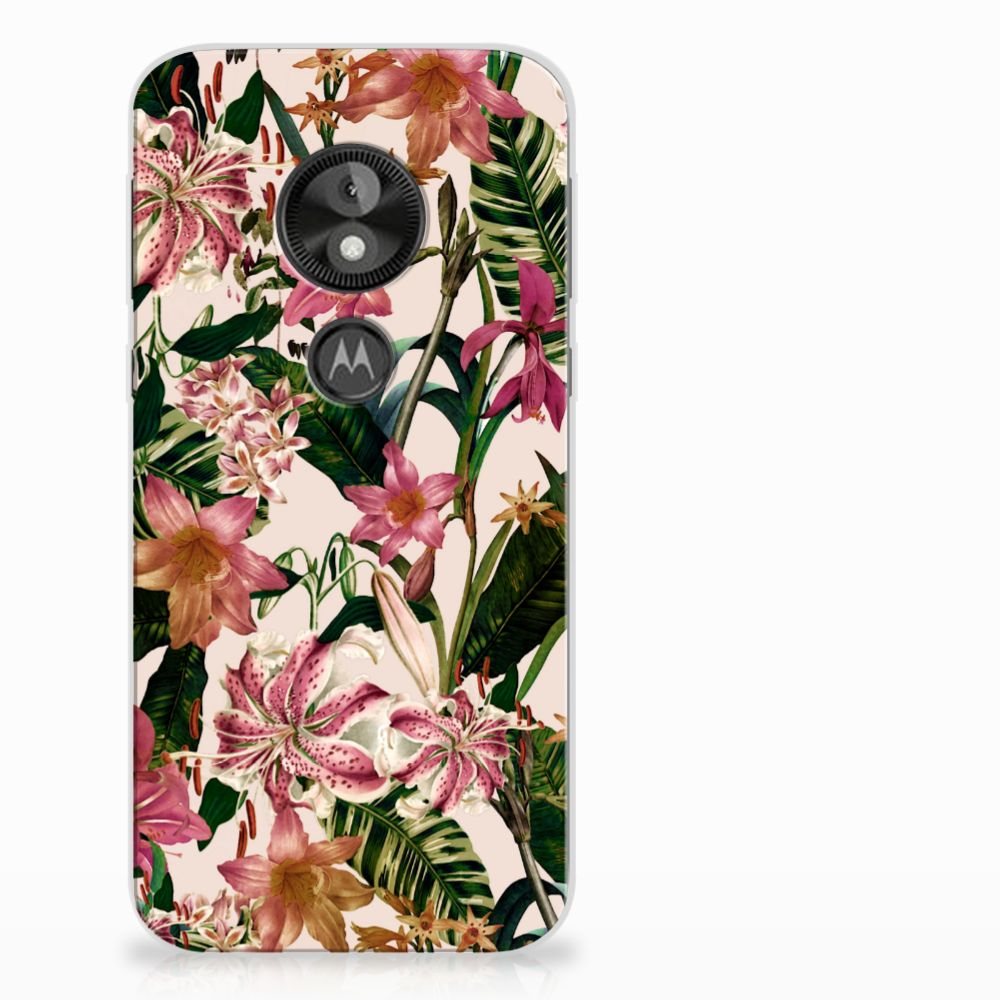 Motorola Moto E5 Play TPU Case Flowers