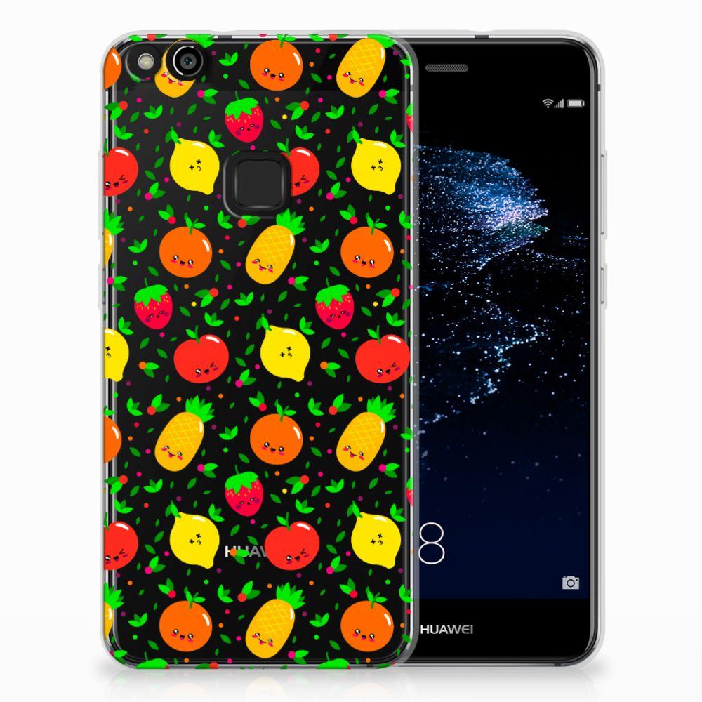 Huawei P10 Lite TPU Hoesje Design Fruits