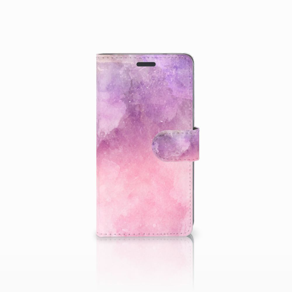 Hoesje LG X Power Pink Purple Paint