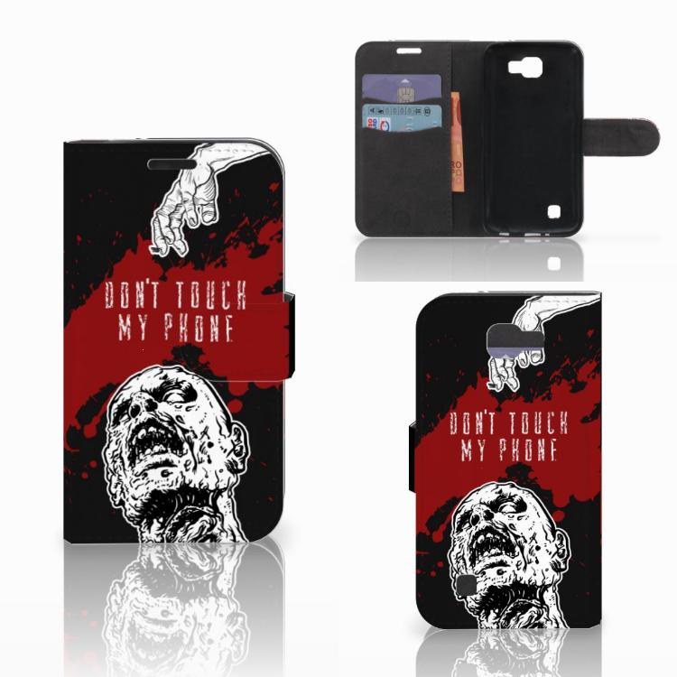 LG K4 Portemonnee hoesje Zombie Blood