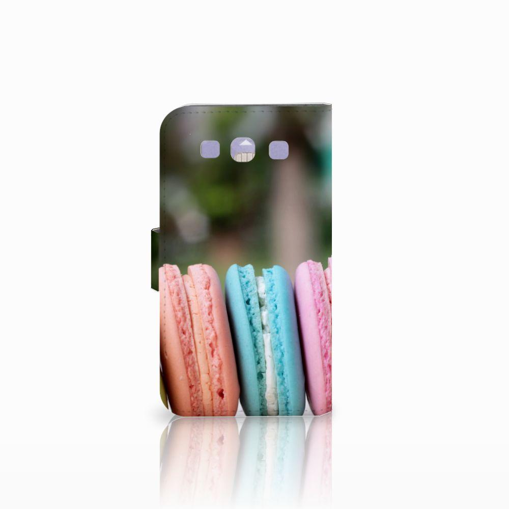 Samsung Galaxy S3 i9300 Book Cover Macarons