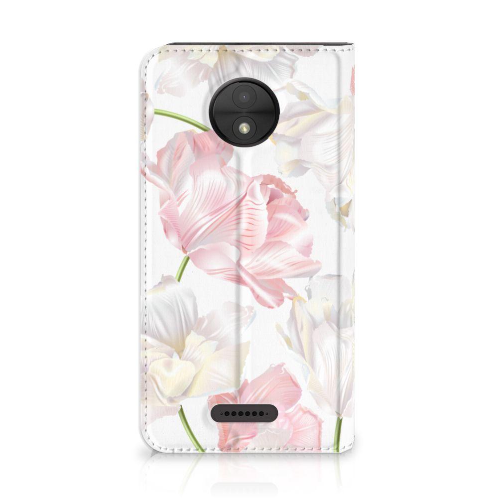Motorola Moto C Standcase Hoesje Design Lovely Flowers
