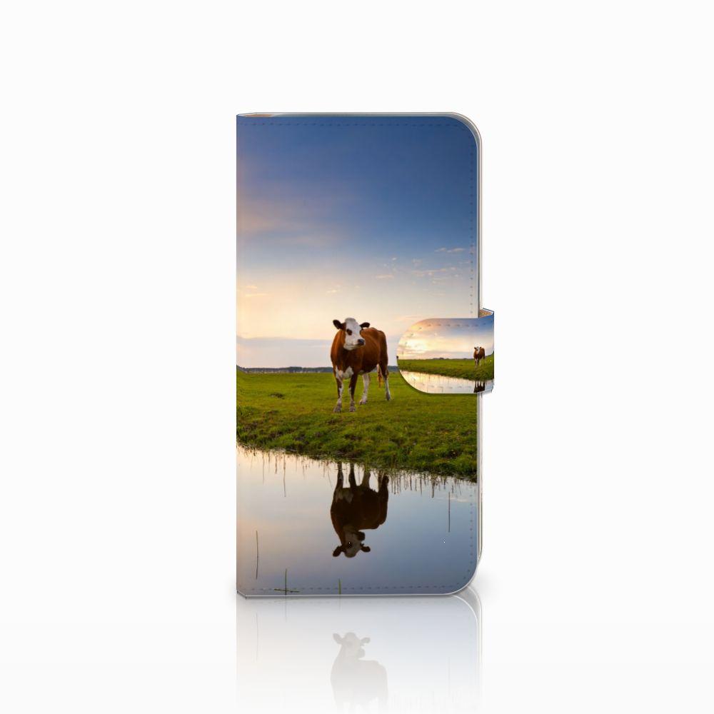 HTC Desire 10 Pro Boekhoesje Design Koe