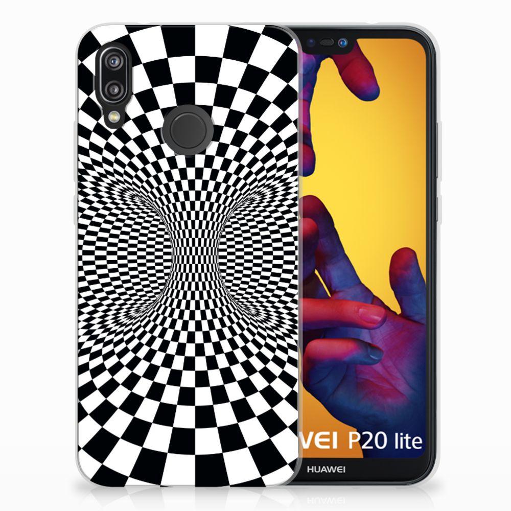 Huawei P20 Lite TPU Hoesje Illusie