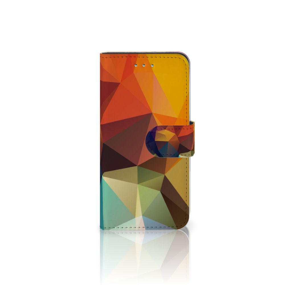 Samsung Galaxy S6 | S6 Duos Bookcase Polygon Color