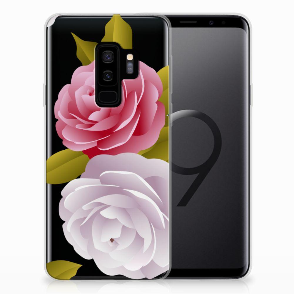 Samsung Galaxy S9 Plus TPU Case Roses