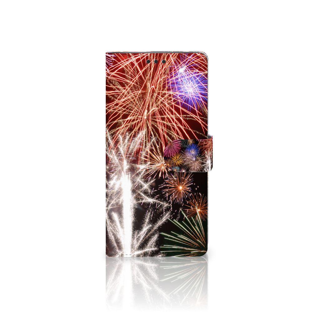 Sony Xperia XA Ultra Boekhoesje Design Vuurwerk