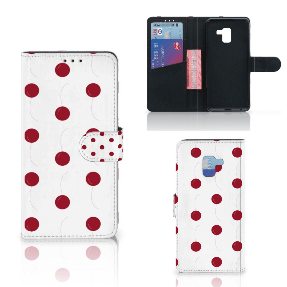 Samsung Galaxy A8 Plus (2018) Book Cover Cherries