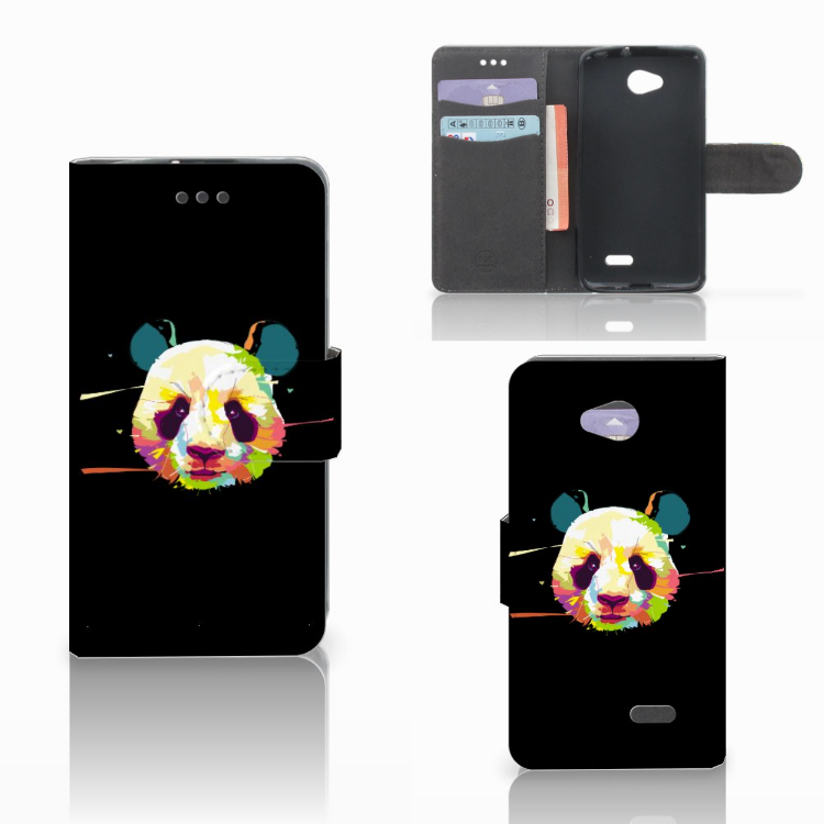 LG L70 Leuk Hoesje Panda Color